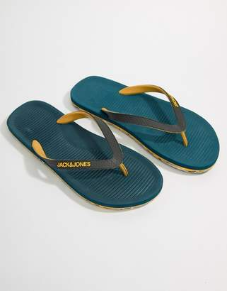 Jack and Jones Flip Flops With Molded Sole