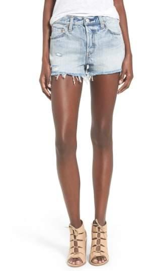 '501(R)' Cutoff Denim Shorts