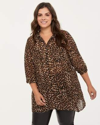 Printed Chiffon Blouse - In Every Story