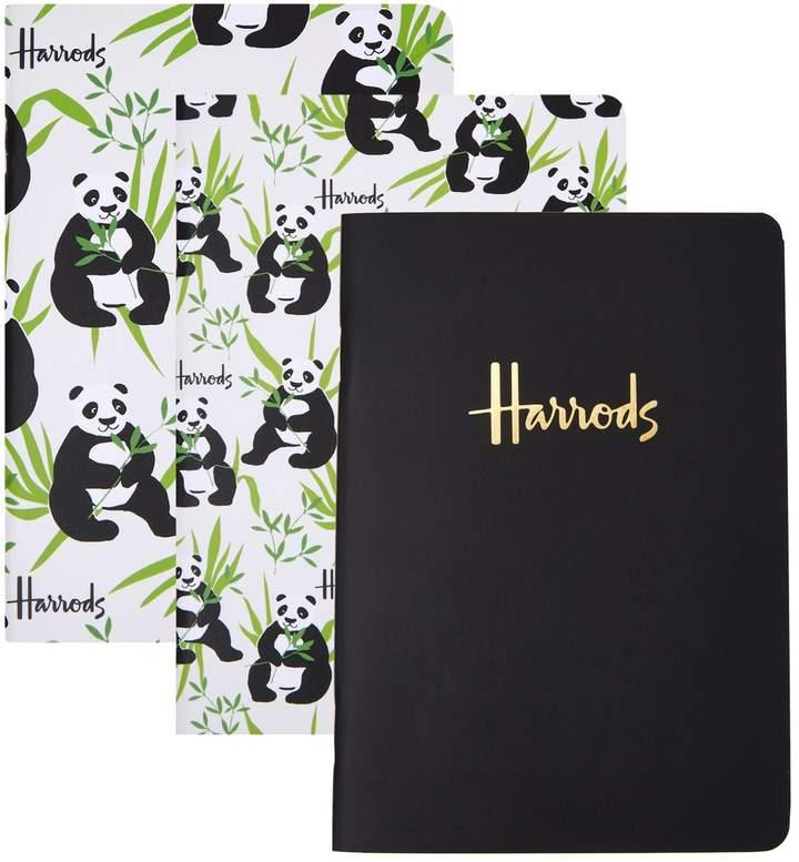Panda A6 Notebooks (Set of 3), White