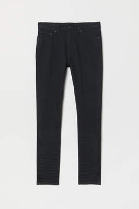 H&M Skinny Tapered Jeans - Black