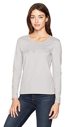 Armani Jeans Women's Long Sleeve Graphic Tshirt
