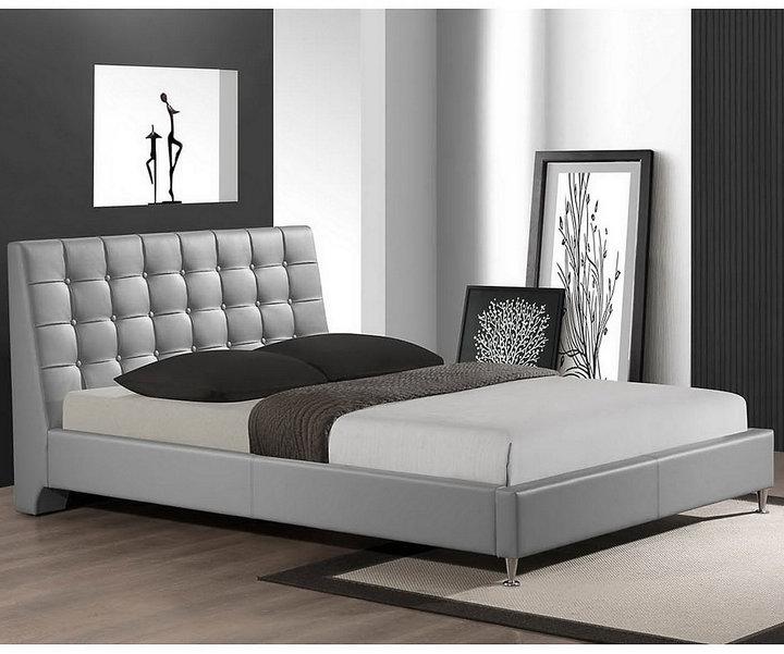Bed Bath & BeyondZeller Designer Queen Bed with Upholstered Headboard