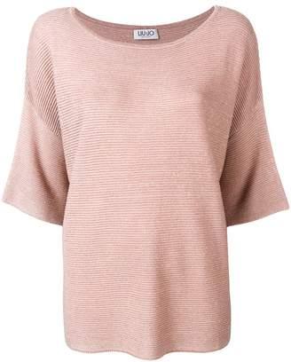 Liu Jo shortsleeved knitted top