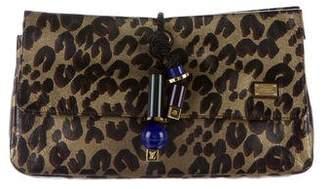 Louis Vuitton Nocturne African Queen Clutch