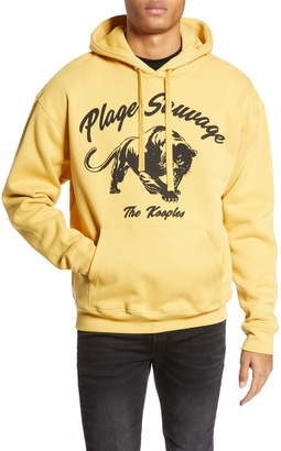 The Kooples Plage Sauvage Panther Hooded Sweatshirt