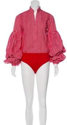 Johanna Ortiz Jicarilla Printed Bodysuit w/ Tags