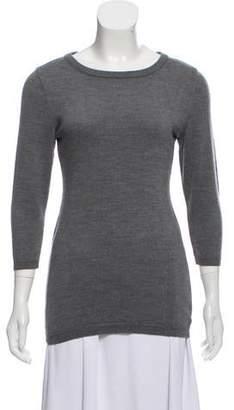 Proenza Schouler Wool Three-Quarter Sleeve Sweater
