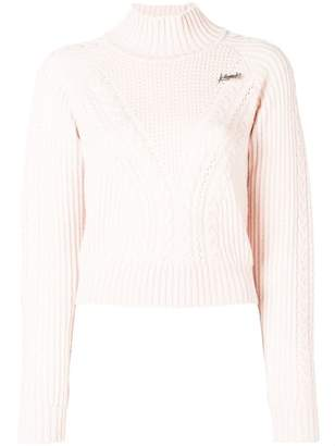 Karl Lagerfeld X Kaia Cropped Sweater