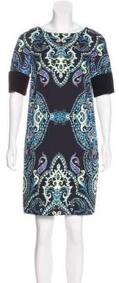 Etro Abstract Print Mini Dress