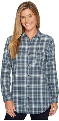 The North Face Long Sleeve Boyfriend Shirt Women's Long Sleeve Button Up