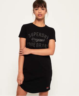 Superdry Slim Embellished T-Shirt Dress