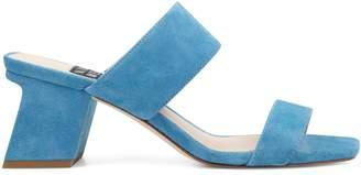 Churen Double Strap Mule Sandals