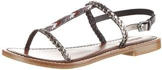 Womens 7299 T-Brace Silver (Pewter) Size: 6 UK Inuovo