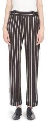 Haider Ackermann Striped Wide Leg Trousers