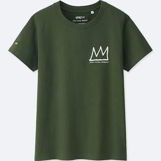 Uniqlo Women's Sprz Ny Jean-michel Basquiat Graphic T-Shirt