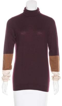 Joseph Colorblock Long Sleeve Sweater