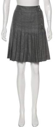 Chanel Pleated Knee-Length Skirt