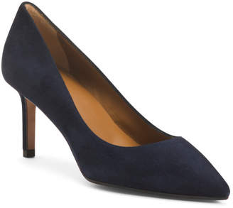 Made In Italy Suede Pumps