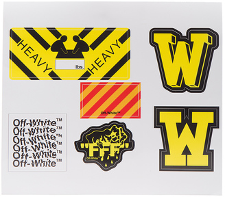 OFF-WHITE Stickers $92 thestylecure.com