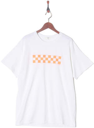 Nano・universe (ナノ ユニバース) - Nano・Universe Men On Season オレンジ CHECKER TシャツSS