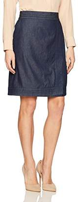 G.H. Bass & Co. Women's Light Weight Chambray Skirt