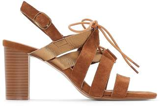 b1803e852fc39 at La Redoute · Anne Weyburn Leather Strappy Sandals