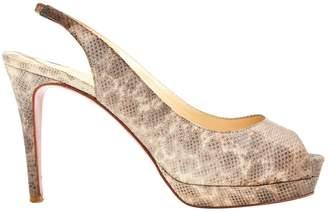Christian Louboutin Leather heels