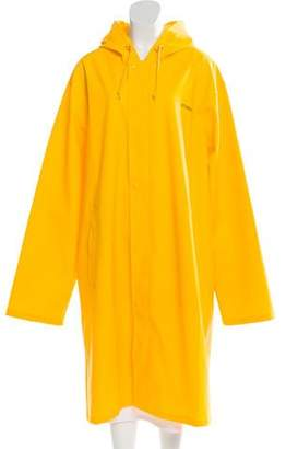 Vetements Zip-Up Rain Coat