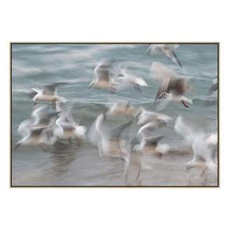 United Artworks Birds Canvas Print With Floating Frame
