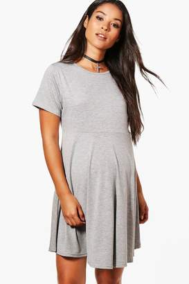 boohoo Maternity Basic Smock Dress