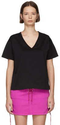 Unravel Black V-Neck T-Shirt