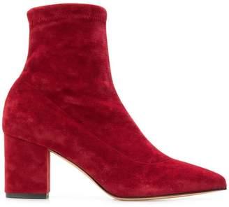 Fabio Rusconi velvet ankle boots