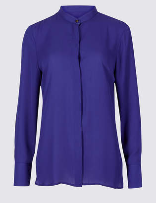Marks and Spencer Round Neck Long Sleeve Shirt