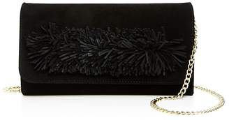OLLIE & B Fringe Suede Clutch - 100% Exclusive $119 thestylecure.com