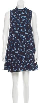Proenza Schouler Silk Printed Dress