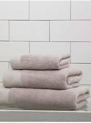 Frette Diamond Border Egyptian Cotton Wash Cloth