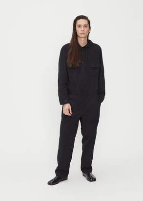 Issey Miyake Double Face Cotton Hooded Jumpsuit