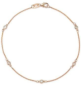 Bloomingdale's Diamond Station Bracelet in 14K Rose Gold, 0.10 ct. t.w. - 100% Exclusive