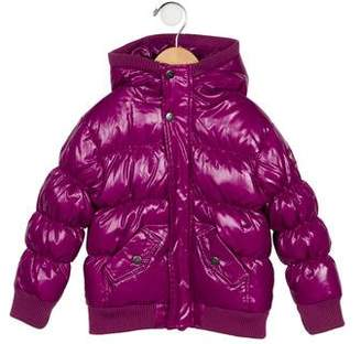 Appaman Fine Tailoring Girls' Hooded Puffer Coat