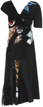 Marine Serre Printed cotton dress