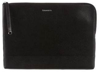 Tiffany & Co. Leather Zip Pouch