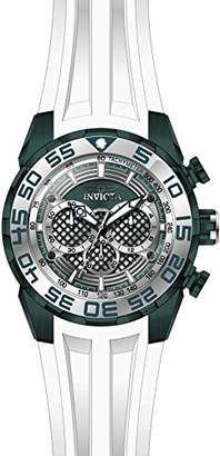 Invicta Men's 'Speedway' Quartz Stainless Steel and Silicone Casual Watch
