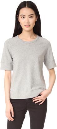 James Perse Raglan Sweatshirt $125 thestylecure.com
