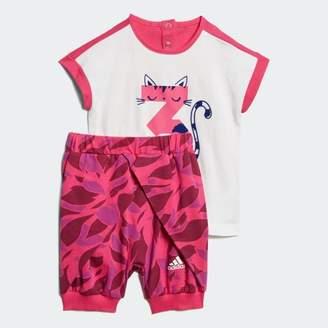 adidas (アディダス) - [オンラインストア限定] ベビー用 Tシャツ上下セット G