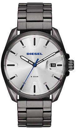 Diesel Mens Three-Hand Date MS9 Gunmetal Watch