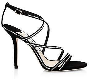 Jimmy Choo Women's Dudette Jeweled Strappy Sandals
