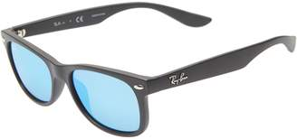 Ray-Ban Junior 47mm Wayfarer Mirrored Sunglasses