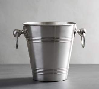 Pottery Barn Antique Silver Ice Bucket