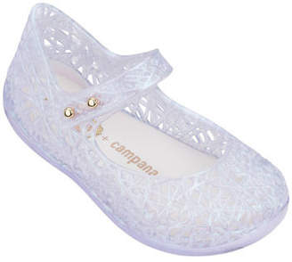 Mini Melissa Mini Campana Zigzag VI Mary Jane Flat, Toddler Sizes 5-10